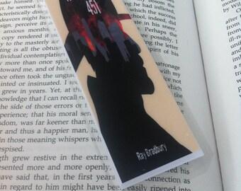 Fahrenheit 451 Bookmark w/Quote