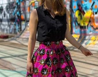 """Zola"" pleated skirt"