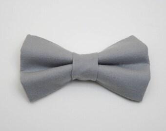 Dog BOW TIE, Dog Bowtie, Bow Tie, Bowtie, Grey Dog Bow Tie, Grey