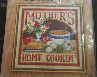 Vintage Sunset Designs Needlepoint Mother's Home Cookin' Needlework Kit