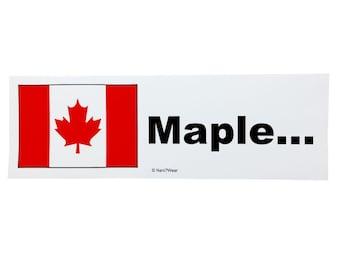 Hetalia Anime Bumper Sticker - Canada (Maple...)
