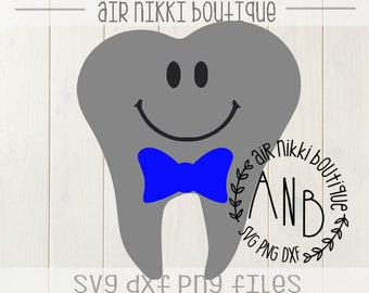 Boy tooth fairy SVG, PNG, DXF files, instant download
