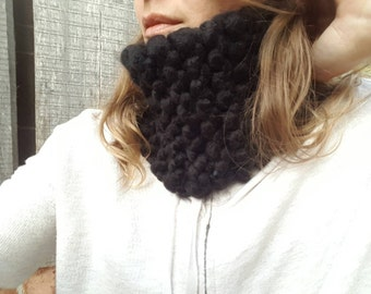 Thick Knit Neckwarmer Cowl