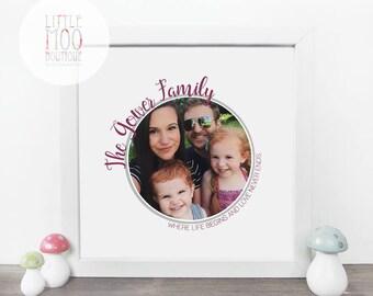 New Mum Gift - Unique Birthday Gift - Gift for Mum - Handmade Gift - Home Decor - Family Keepsake - Gift for Her - Sentimental Keepsake