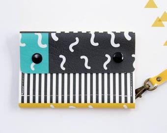 Small wallet, Vegan wallet, Vegan printed wallets, Bifold vegan wallets, Bifold wallet women, Vegan wallet women, Mini wallet,  Cute wallet