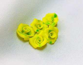 Mini-cabochons flowers * the sweet * to the unit