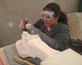 3D Grotesque Stone Carving Workshop