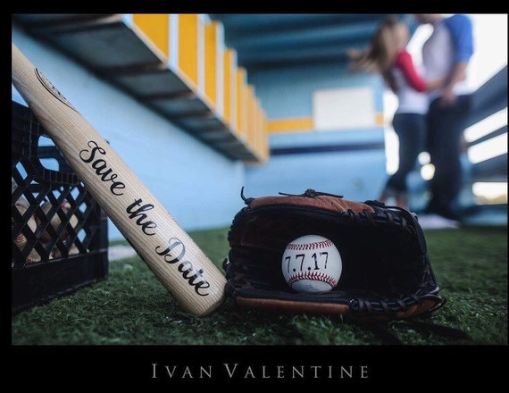 save the date baseball set unique save the date wedding