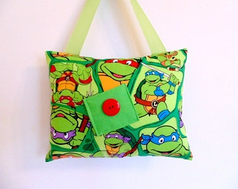 Teenage Mutant Ninja Turtles Tooth Fairy Pillow , Boys Hanging Tooth Fairy Pillow
