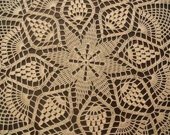 Crocheted Doilies around