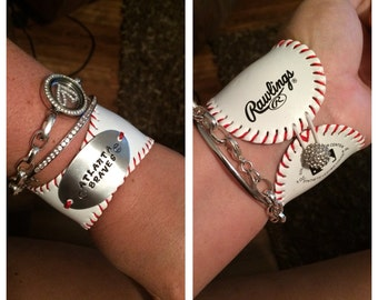 Baseball bracelet Atlanta Braves
