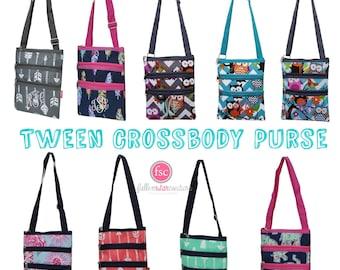 TWEEN cross-body bag, owl bag, cross-body bag, messenger bag, kids cross-body purse