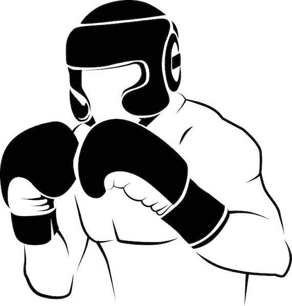 boxer 2 boxing fight fighting fighter mma mixed martial arts boxer rh etsystudio com mma clip art free mma clipart png