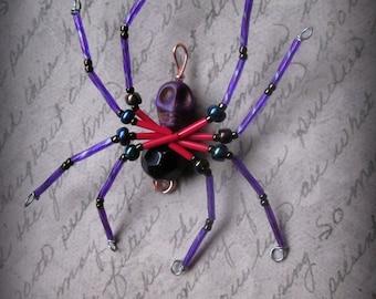 Zombie  Spider Suncatcher Ornament
