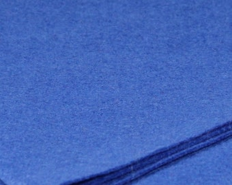Bamboo and Rayon Eco Felt - 10 x 11 inches - Blue Hawaii