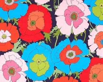 Alexander Henry - Mexican Poppy - #8284C - Indigo/Multi