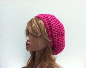Crochet Beret - BERRYLICIOUS
