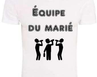 T-shirt EVJG EVJH team groom