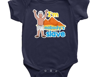 Passover Baby Bodysuit Funny Slave Clothing Seder Pesach Outfit Infant Clothes Playsuit Jewish Holiday Gifts For Children