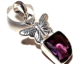AMETRINE GEMSTONE 925 silver Plated pendant handmade jewelry