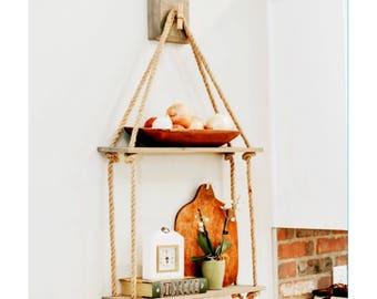 2 Level Swing Shelf with Hanger