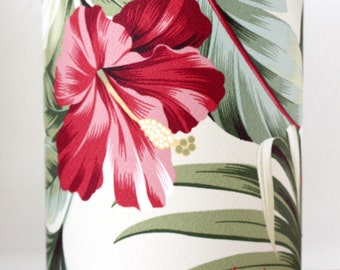 hibiscus tropical table lamp