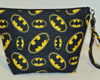 Batman print project bag