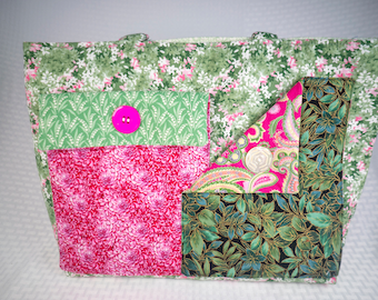 Large Stand Up Tote or Diaper Bag