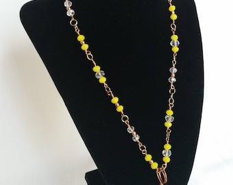 Lemon Sunshine Pendant Necklace