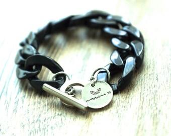 Plastic Chain Link Bracelet