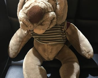 Vintage Heritage Collection Puppy Plush 1981 Like New