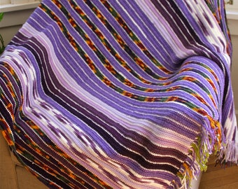MAJOR Sale - Charming Amethyst Purple Afghan