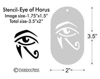 Stencil - Egyptian Eye of Horus, Medium
