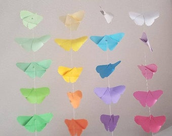 Flat mobile 20 origami (crane or butterfly)