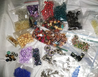 Bead and charm lot