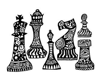Chess Notecard