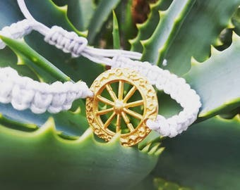 Sicilian Wheel Bracelet