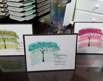 Artwork Tree! Thinking of You Greeting Card