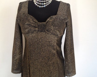 Vintage Hollywood Dress Gown - XL