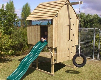 How to build a kid's playfort