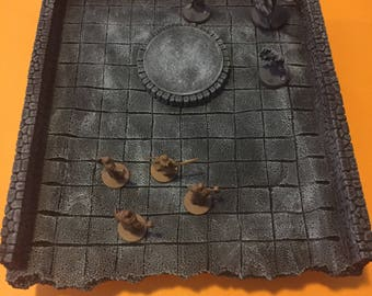 Big Custom Dungeon Terrain, Dungeons and Dragons, DnD, Pathfinder, RPG,