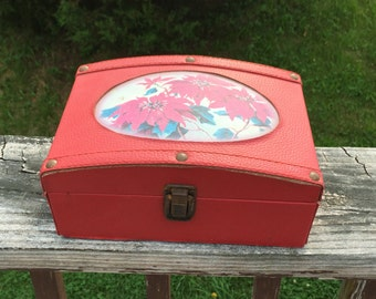 Box Christmas Box Red Box Jewelry Box