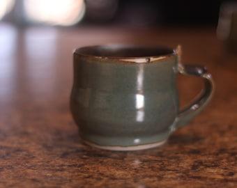 Green and Gold Mug