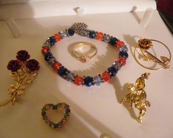 Pretty Costume Jewellery Lot