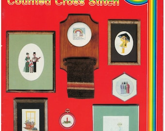Cross Stitch Patterns – School House Of Counted Cross Stitch Book 1 – Vintage Cross Stitch Pattern Book – CC-1