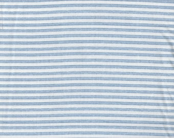 Baby Sprinkles - Per Yard - Quilting Treasures - Nicole Tamarin - Blue and white Stripe