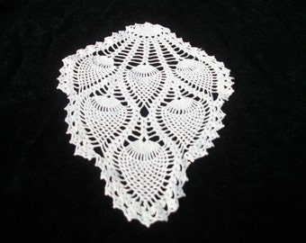 EDWARDIAN VICTORIAN Downton Abbey English Steampunk CROCHETED  Piece, Creamy White, Make Something out of