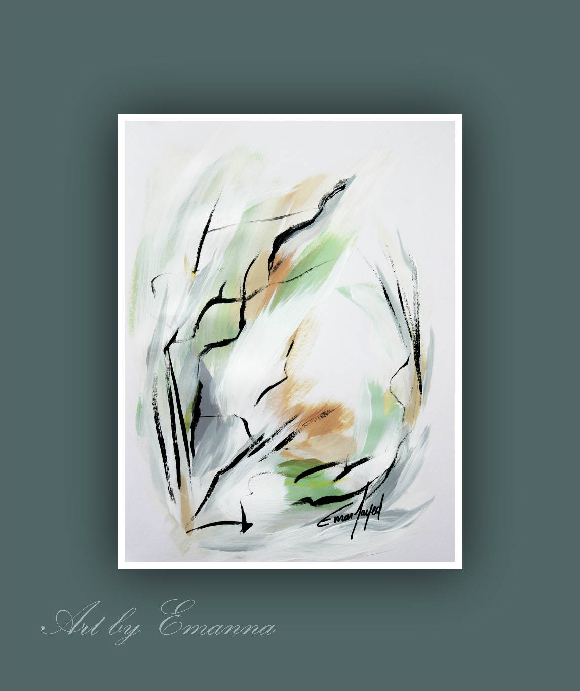 art prints abstract print set of 3 contemporary painting set of 3
