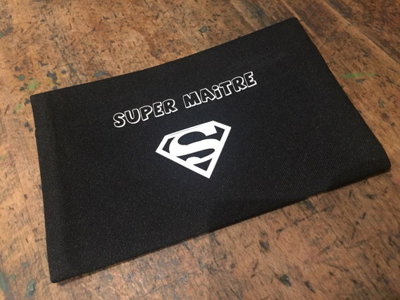 """Super teacher"" pouch"