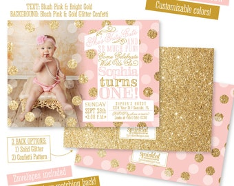 4th of july first birthday invitations little firecracker ballerina first birthday girl invitation photo card tutu cute so much fun blush pink gold glitter big one 1st bday printed party invites filmwisefo